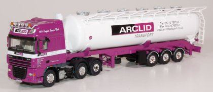 Arclid liveried truck